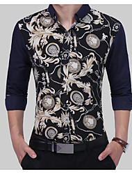 cheap -Men's Business Shirt - Print