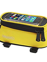 Недорогие -ROSWHEEL Сотовый телефон сумка Бардачок на раму Дожденепроницаемый Со светоотражающими полосками Простота установки Велосумка/бардачок полиэстер для печати Велосумка/бардачок Велосумка iPhone X