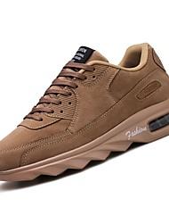abordables -Homme Chaussures Gomme Printemps Confort Chaussures d'Athlétisme Gris / Noir et Or / Kaki