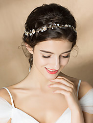 Rhinestone Headbands with Rhinestone   Floral 1pc Wedding   Party   Evening  Headpiece 8db1da89664