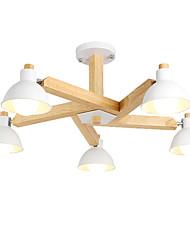 Недорогие -LightMyself™ 5-Light Люстры и лампы Потолочный светильник 110-120Вольт / 220-240Вольт Лампочки не включены / 10-15㎡ / E26 / E27