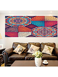 cheap -Still Life Arabesque Wall Stickers Plane Wall Stickers 3D Wall Stickers Decorative Wall Stickers Photo Stickers Floor Stickers Door