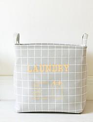 cheap -Fabric Envelope / Rectangular Cute Home Organization, 1pc Storage Baskets