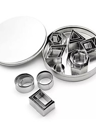 cheap -20pcs For Chocolate Multifunction For Cookie Stainless Steel Multi-function Heatproof Creative Kitchen Gadget Pie Tools