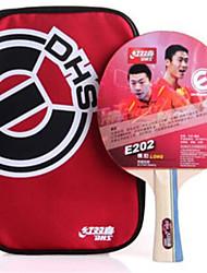 economico -DHS® E202 FL Ping-pong Racchette Gomma da cancellare Manopola  lunga Brufoli