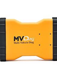 abordables -16pin 2 Ports - Non Scanners de diagnostic de véhicule
