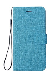 Недорогие -Кейс для Назначение Huawei Nova 2 Nova Бумажник для карт Кошелек со стендом Флип Чехол Сплошной цвет Твердый Кожа PU для Nova 2 Plus Nova