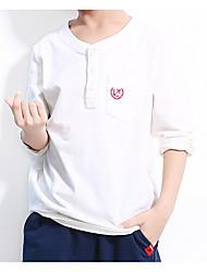 economico -Bambino Bambino (1-3 anni) Da ragazzo A strisce Manica lunga T-shirt