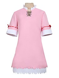 cheap -Inspired by Miss Kobayashi's Dragon Maid Cosplay Anime Cosplay Costumes Cosplay Suits / Dresses Other Short Sleeves / Long Sleeve Dress / Socks / Hat For Men's / Women's Halloween Costumes