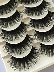 cheap -Cosmetic 1 Volumized Natural Smokey Makeup Full Strip Lashes