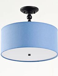 cheap -QIHengZhaoMing 3-Light Chandelier Ambient Light - Eye Protection, 110-120V / 220-240V Bulb Included / 10-15㎡
