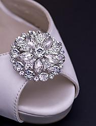 economico -2pcs Strass Abbellimenti decorativi Per donna Per tutte le stagioni Matrimonio Da mare Argento