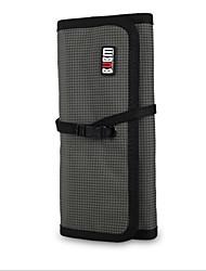 abordables -Sacs de Rangement pour Couleur unie Nylon Source d'Energie Clé USB Batterie Externe Disque Dur Ecouteurs / Casque