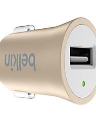 Недорогие -Автомобильное зарядное устройство Зарядное устройство USB USB КК 2.0 / Быстрая зарядка 1 USB порт 2.4 A DC 12V-24V