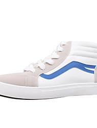 cheap -Men's Fabric Spring Comfort Sneakers Red / Blue / Black / White