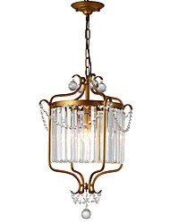 cheap -LightMyself™ 3-Light Chandelier / Pendant Light Ambient Light - Crystal, 110-120V / 220-240V Bulb Not Included / 5-10㎡ / E12 / E14