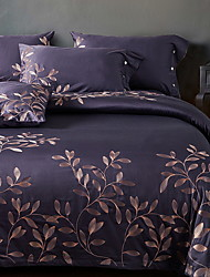 cheap -Duvet Cover Sets Luxury Poly / Cotton / 100% Cotton Reactive Print 4 Piece