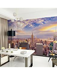 Недорогие -Ар деко Рисунок 3D Украшение дома Классика Modern Облицовка стен, холст материал Клей требуется фреска, Обои для дома