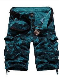 cheap -Men's Cotton Shorts Pants - Camouflage