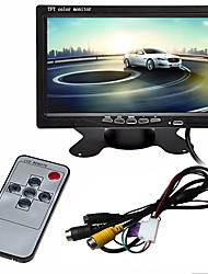 cheap -ZIQIAO 7 inch TFT-LCD Wired Car Reversing Monitor Multi-functional display for Car