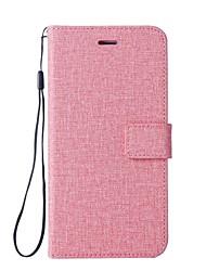 abordables -Funda Para Sony Xperia XZ Premium Xperia XZ1 Compact Soporte de Coche Cartera con Soporte Flip Funda de Cuerpo Entero Color sólido Dura