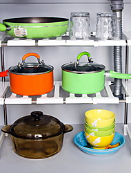 Недорогие -Кухонная организация Коробки для хранения Пластик Аксессуар для хранения 1 комплект