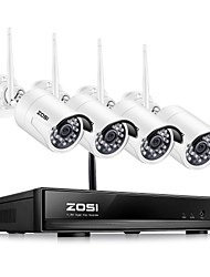 cheap -ZOSI 4CH 1080P HDMI Wifi NVR 2.0MP Security System IR Waterproof CCTV Camera Wireless Surveillance System