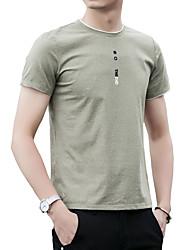 Majica s rukavima Muškarci - Osnovni Ulični šik Jednobojni Slovo