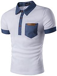 Majica s rukavima Muškarci - Ulični šik Jednobojni Osnovni