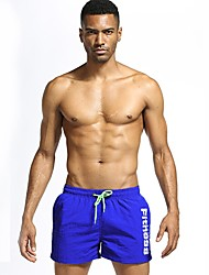 abordables -Homme Actif Ample Short Chino Pantalon - Imprimé, Couleur Pleine Lettre