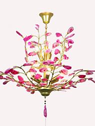 abordables -QIHengZhaoMing 9 lumières Lustre Lumière d'ambiance - Protection des Yeux, 110-120V / 220-240V Ampoule incluse / 15-20㎡
