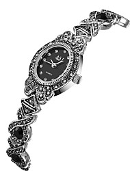cheap -ASJ Women's Japanese Water Resistant / Water Proof / Casual Watch Alloy Band Fashion Black / Two Years / SSUO 377