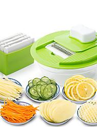 Недорогие -1шт Кухонная утварь Инструменты Пластик Нержавеющая сталь Творческая кухня Гаджет Для фруктов и овощей Многофункциональный Для фруктов Для овощного