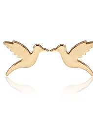 cheap -Women's Stud Earrings - Bird, Animal Fashion Gold / Silver / Rose Gold For Daily / Work