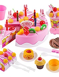 cheap -Holiday Family Cake Exquisite Parent-Child Interaction Kid's Boys' Girls' Toy Gift 75 pcs