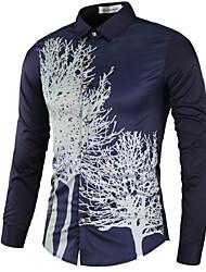 Majica Muškarci - Posao Cvjetni print Osnovni