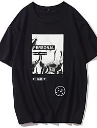 Herre - Geometrisk T-shirt