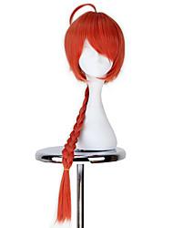 Недорогие -Косплэй парики Джинтама Оранжевый Аниме Косплэй парики 32 дюймовый Термостойкое волокно Все Хэллоуин парики