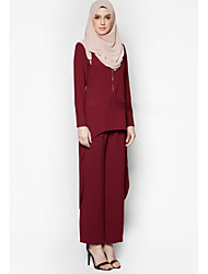 cheap -Women's Shirt - Solid Colored Pant