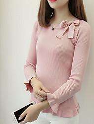 povoljno -Žene Jednostavan Slatko Pullover Jednobojni
