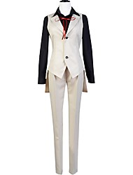 cheap -Inspired by Bungo Stray Dogs Cosplay Anime Cosplay Costumes Cosplay Suits Other Long Sleeves Vest Blouse Pants More Accessories For Men's