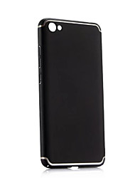 abordables -Coque Pour Xiaomi Note Redmi 5A Antichoc Coque Couleur unie Dur PC pour Redmi Note 5A