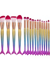cheap -16pcs Professional Makeup Brushes Makeup Brush Set Artificial Fibre Brush / Synthetic Hair Eco-friendly / Professional Plastic 1 * Fan