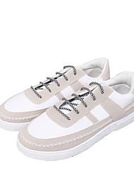 billige -Herre Stof Forår / Efterår Komfort Sneakers Hvid / Sort