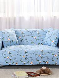 billige -Moderne 100% Polyester Mønstret Loveseat Dække, Simple Planter Blomstret Trykt Møbelovertræk