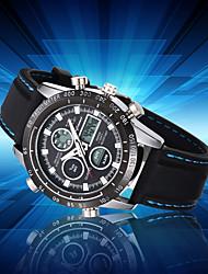 cheap -Men's Wrist watch Fashion Watch Sport Watch Japanese Quartz Calendar / date / day Water Resistant / Water Proof Large Dial Casual Watch