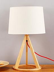 baratos -Simples Moderno/Contemporâneo Decorativa Luminária de Mesa Para Madeira/Bambu 220-240V