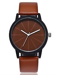 baratos -Mulheres Quartzo Relógio Elegante Relógio de Moda Relógio Casual Chinês Relógio Casual PU Banda Casual Fashion Preta Marrom Verde
