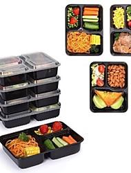 Недорогие -9pcs Пластик Heatproof Ланч-боксы, посуда