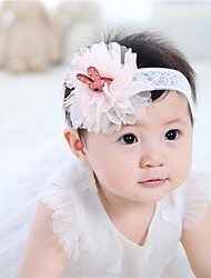 cheap -Girls' Hair Accessories, All Seasons Lace Headbands - Blue Blushing Pink